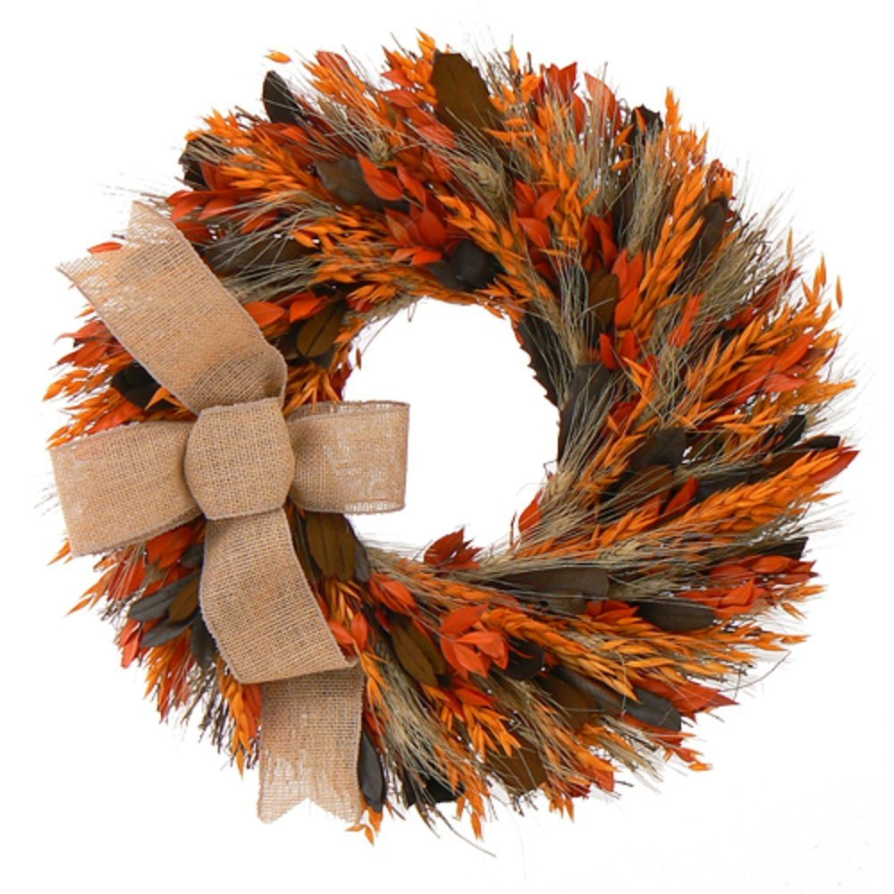 40 Thanksgiving amp Autumn Wreaths To Decorate Your Home