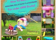Backyard Playground on the Cheap!
