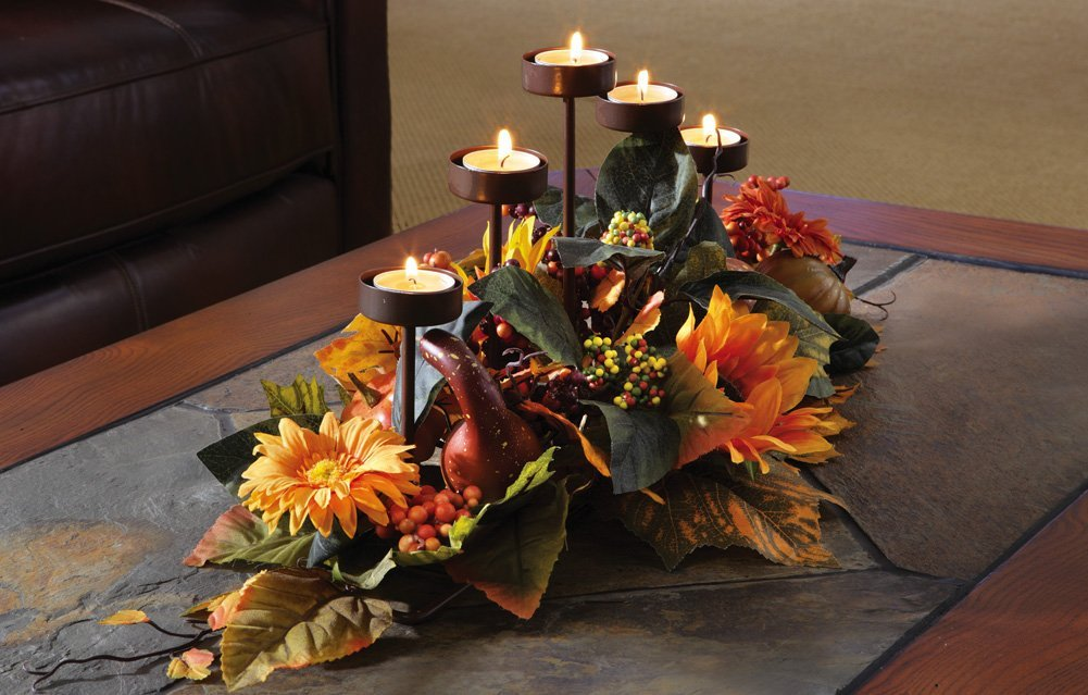 Decorate your thanksgiving table with beautiful