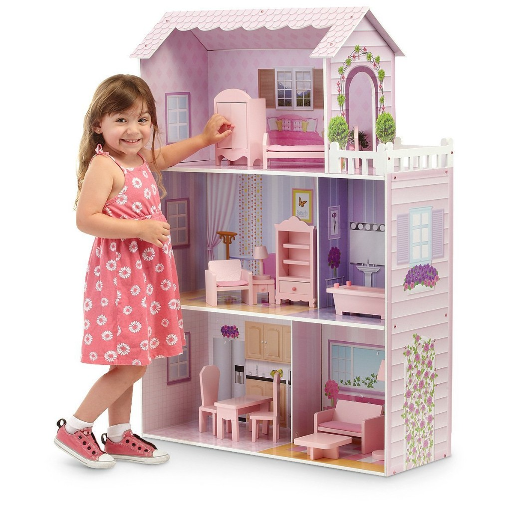 Convey Your Little Girl S Personality Through Her Bedroom: Dollhouses For Christmas
