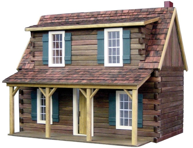 Adirondack Cabin Kit Dark