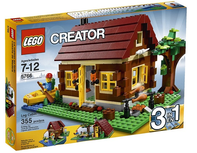 Lego Log Cabin Set
