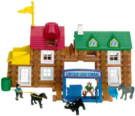 Lincoln Logs Playset