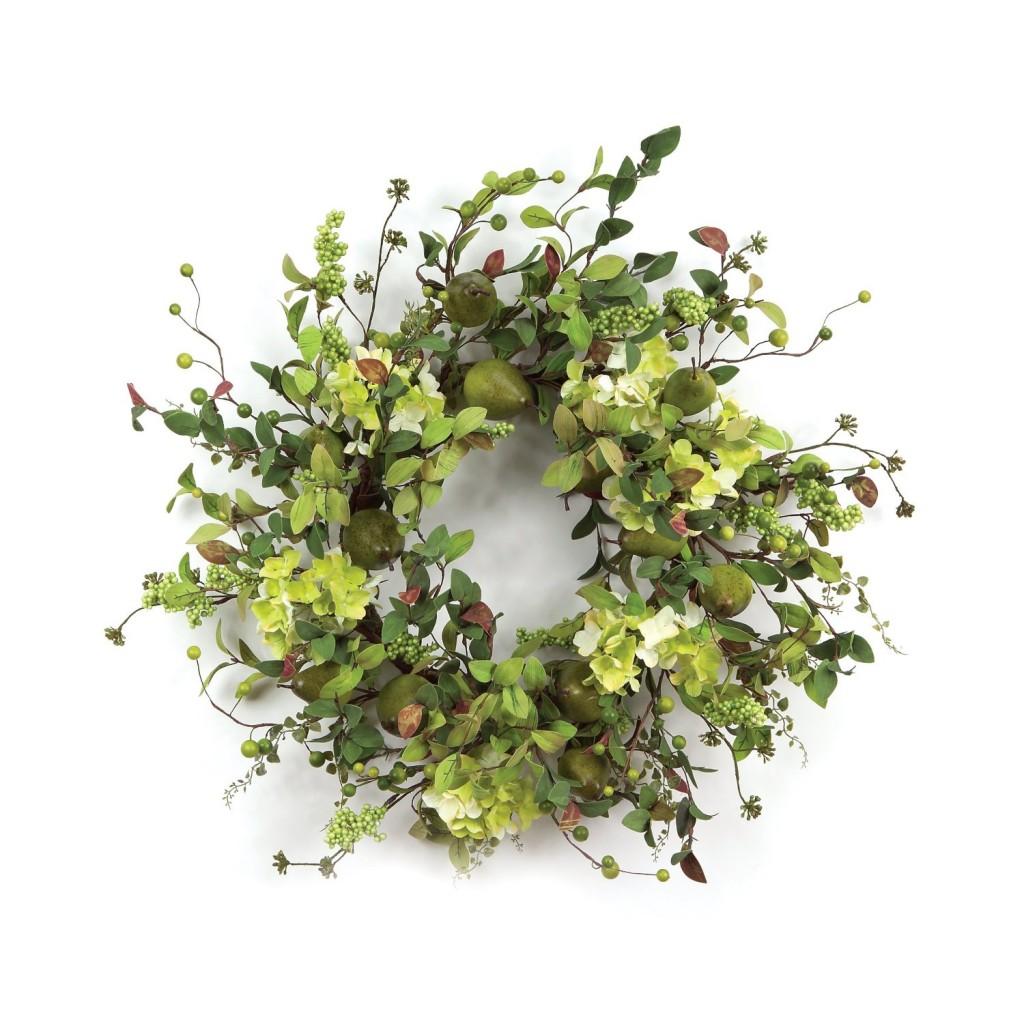 Pear Hydrangea Wreath