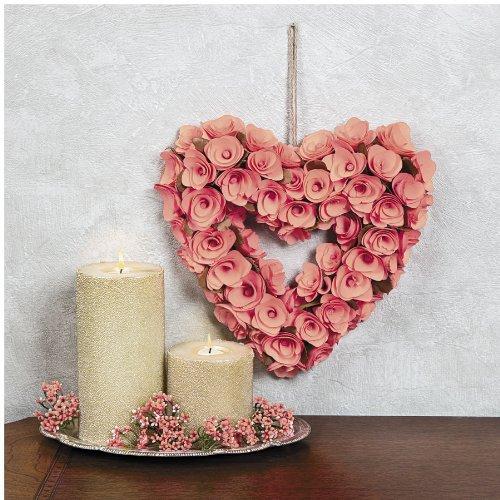 Pink Heart Rose