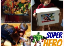 Find ME at Powered by Mom! {Super Hero Giveaway too!}
