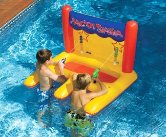 Arcade Water Shooter Pool party toys for kids| My Kids Guide