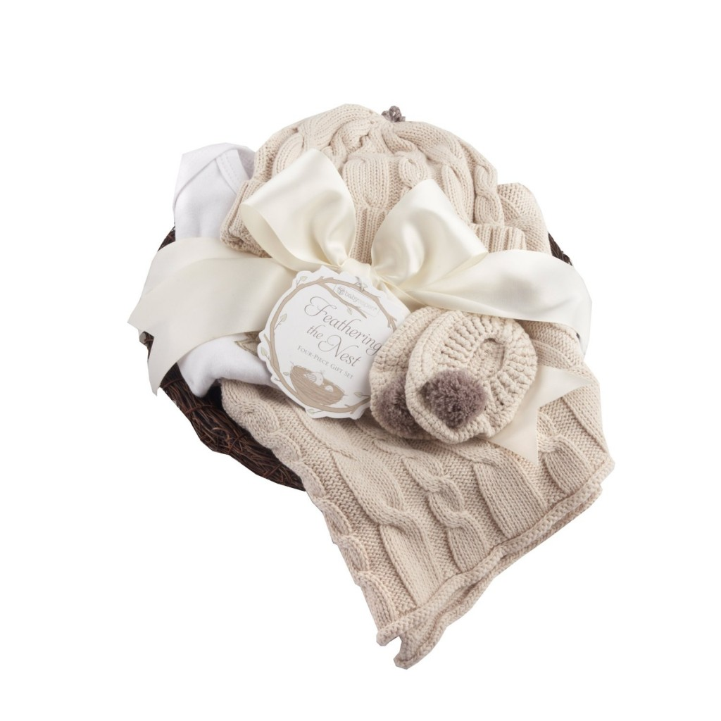4 Piece Baby Layette Gift Set