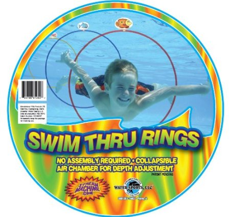 Swim Through Rings Pool party toys for kids| My Kids Guide