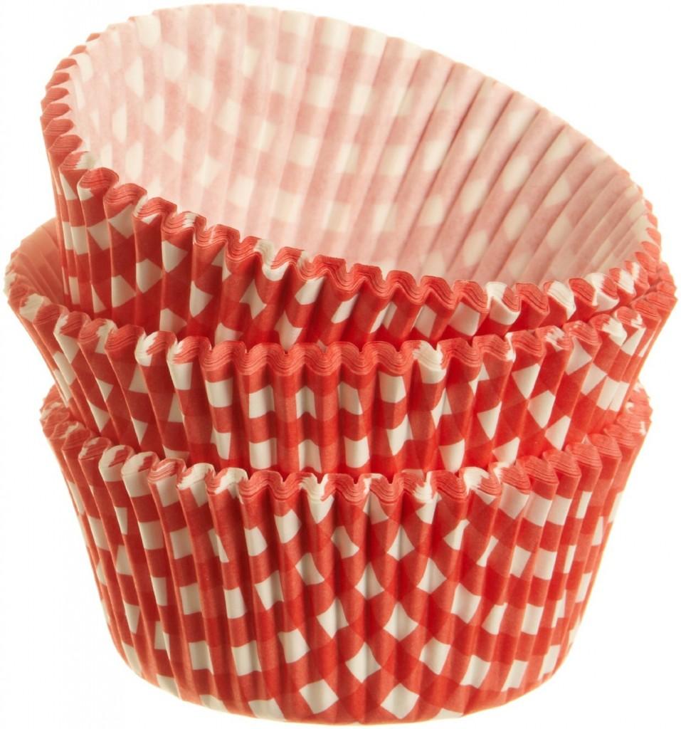 Gingham Cupcake
