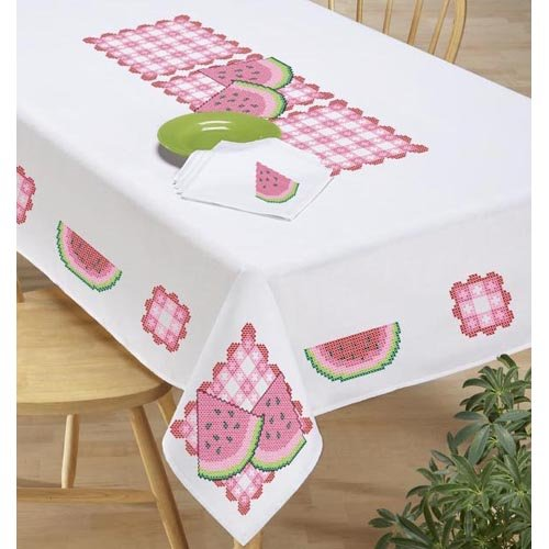 Watermelon Tablecloth Family & Friends Summer Picnic for Under $100
