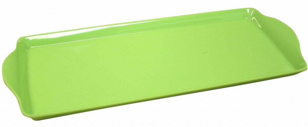 Green Serving Tray Family & Friends Summer Picnic for Under $100