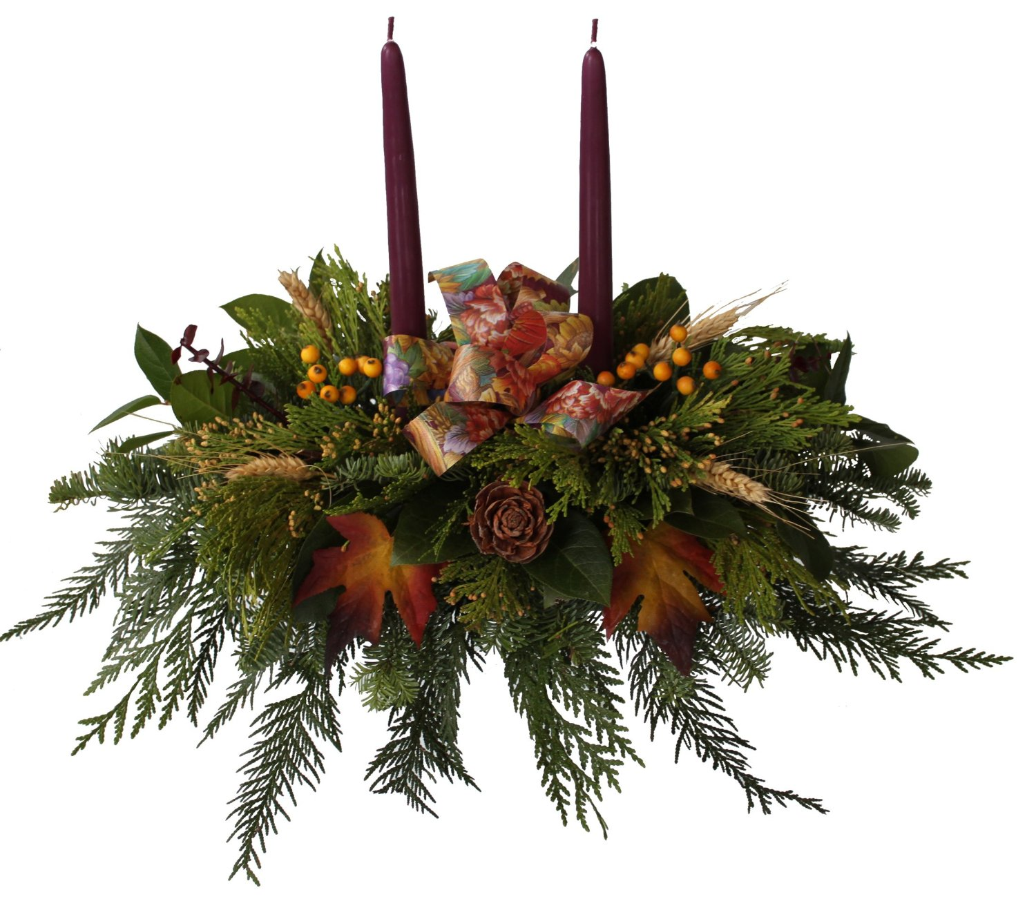 Fern Thanksgiving Centerpiece