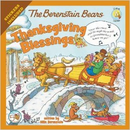 Berenstain Bears Thanksgiving Blessings.
