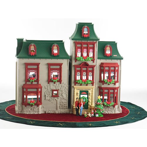 Loving Family Christmas Dollhouse