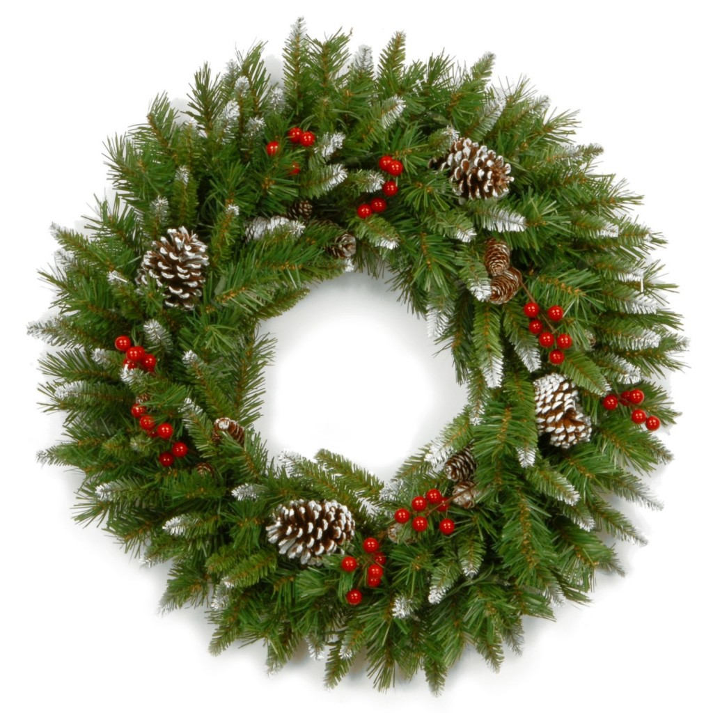 20 christmas wreath ideas for How to make christmas door wreaths